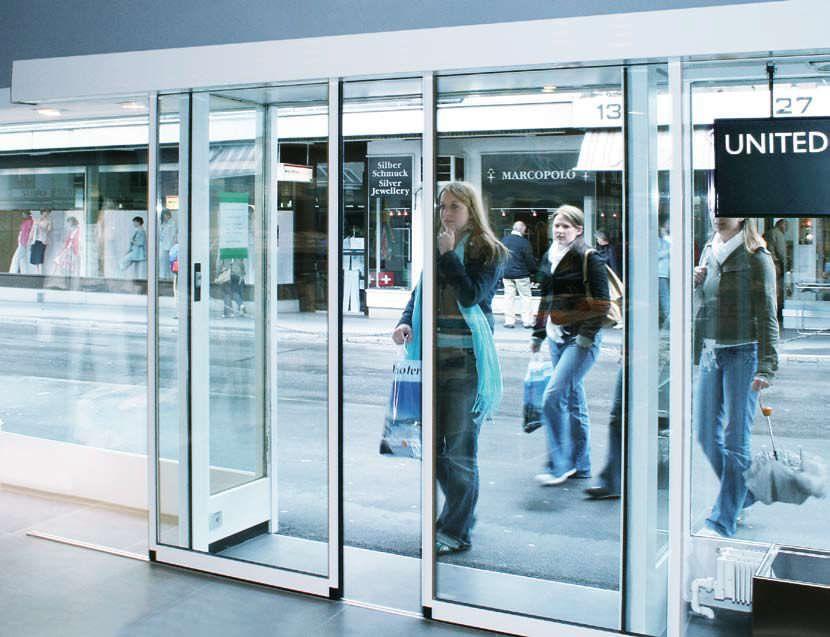 Cửa tự động là thiết bị cửa hiện đại có thể vận hành tự động mà không có sự can thiệp của con người